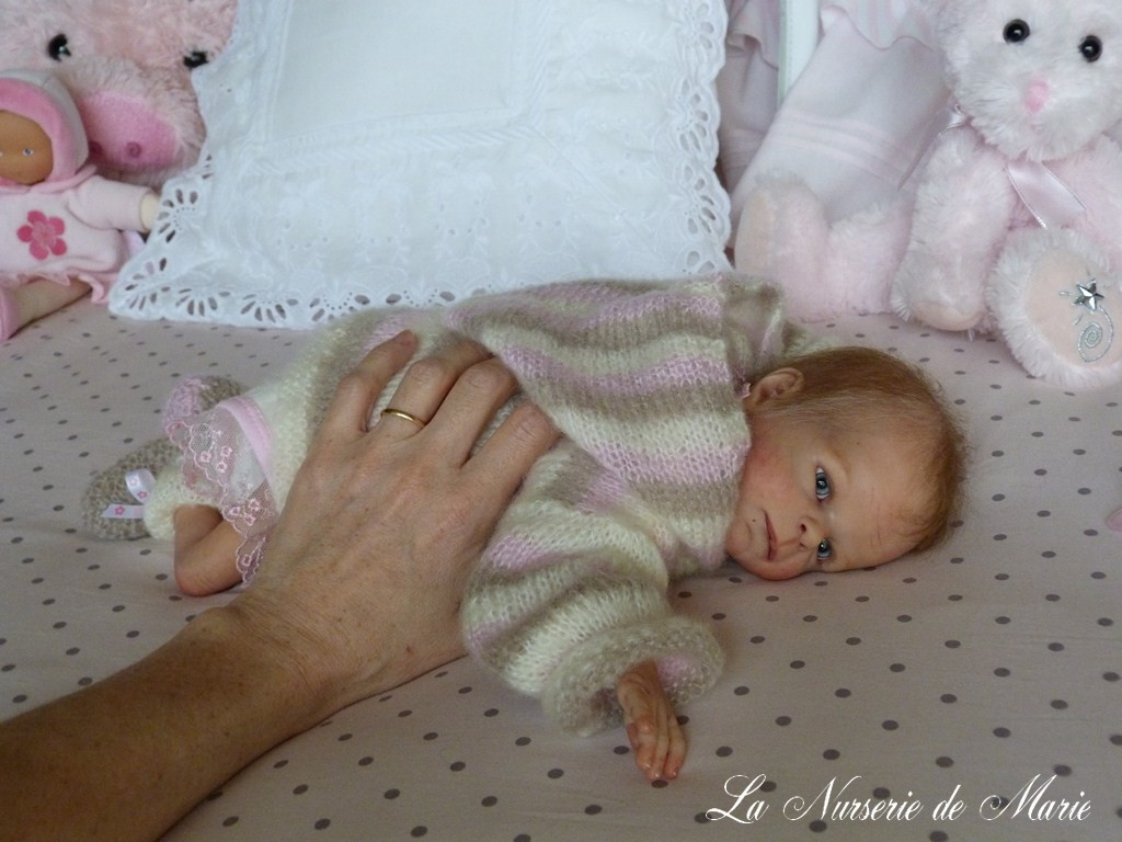 Chance Reborn Vinyl Doll Kit by Sabine Hansen