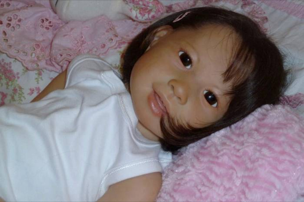 Kimi Reborn Vinyl Doll Kit by Jannie De Lange
