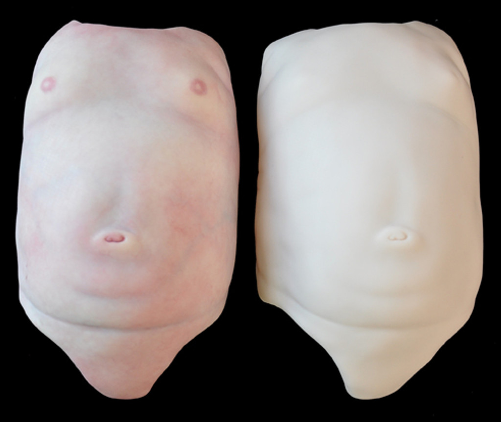 """Tummy Plate For 19-20"""" Premie Doll Kits by Marita Winters"""
