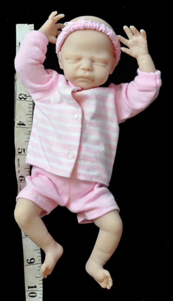 Zachy Mini Reborn Vinyl Doll Kit by Marita Winters