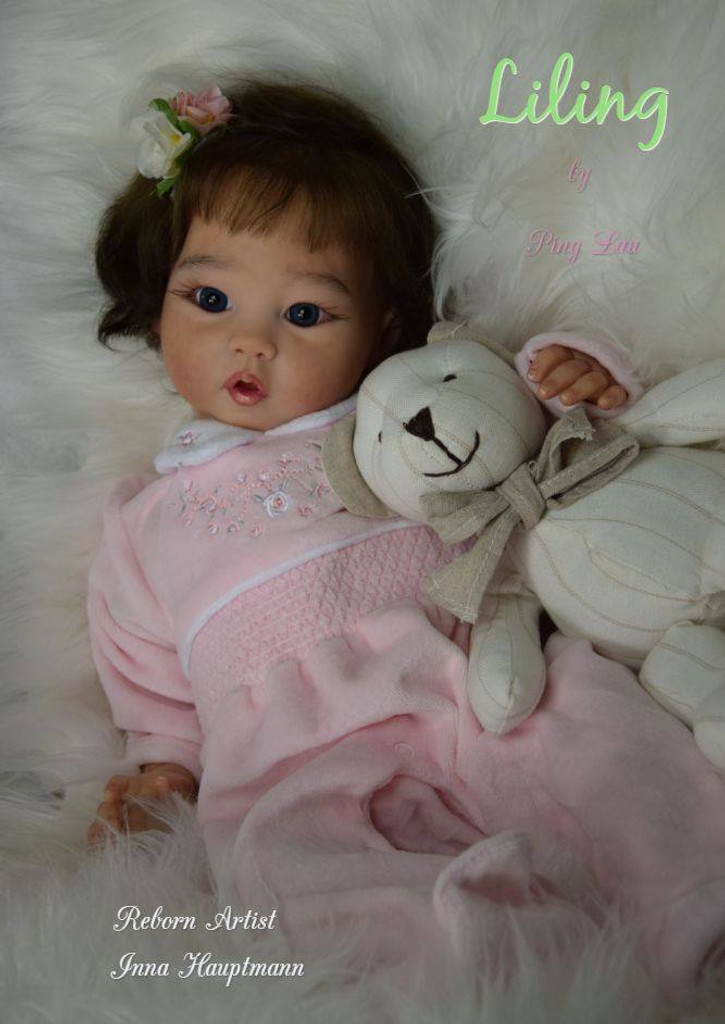 Liling Reborn Vinyl Doll Kit by Ping Lau - Limited Edition