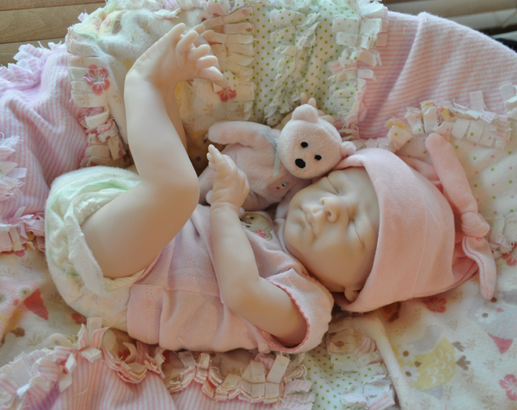 Denver Rose Reborn Vinyl Doll Kit by Marita Winters
