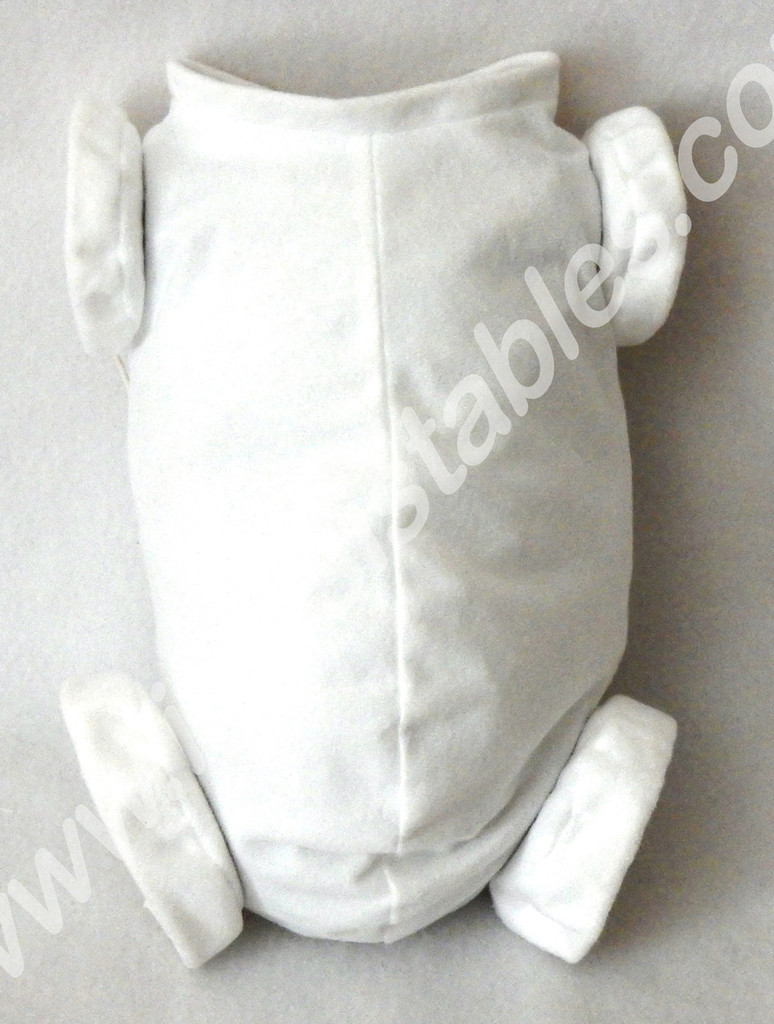 """Doe Suede Body for 19-21"""" Dolls Full Jointed Arms Full Jointed Legs #589GW"""
