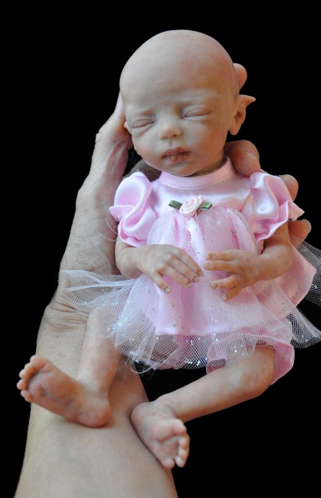 Zodi Tiny Micro-Preemie Fantasy Reborn VInyl Fairy Doll Kit by Marita Winters