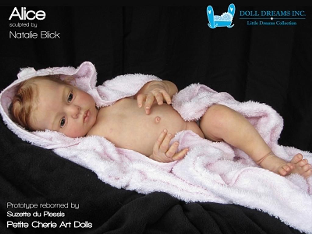 Alice Reborn Vinyl Doll Kit by Natali Blick