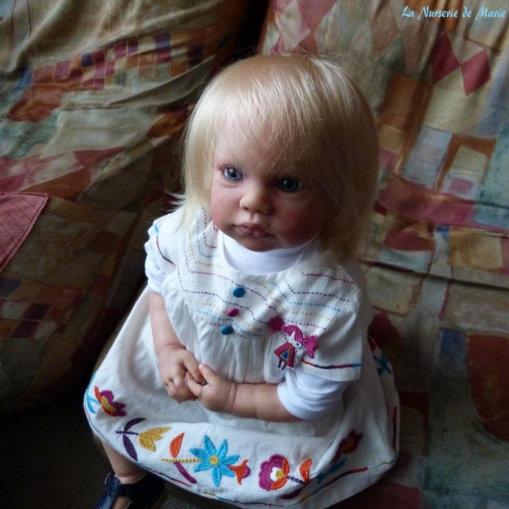 Gabriela Reborn Vinyl Doll Kit by Regina Swialkowski