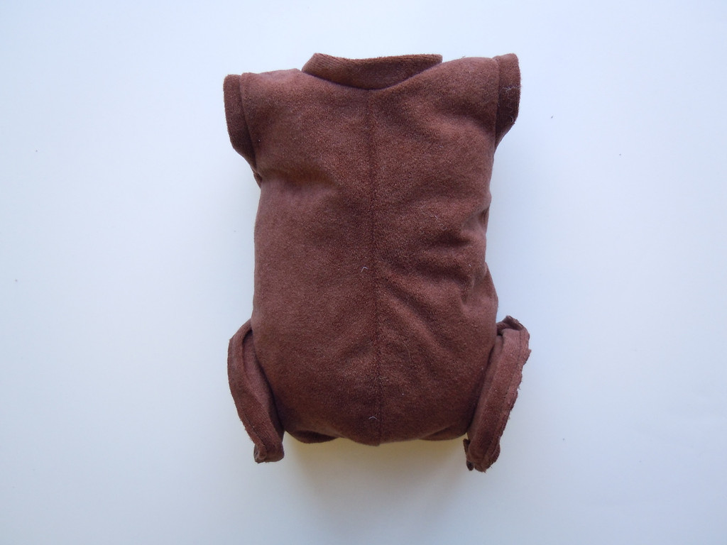 """Doe Suede Ethnic Body for 17-18"""" Dolls Full Unjointed Arms Full Jointed Legs #1400GE"""