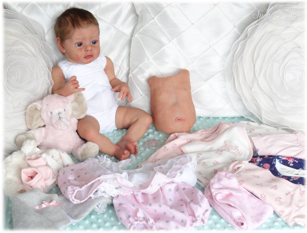 """Tummy Plate -  Non-Gender For 19-21"""" Kits by Natali Blick"""