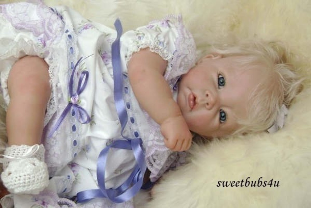Luca Vinyl Reborn Doll Kit by Elly Knoops