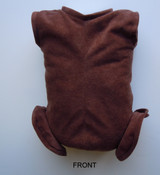 "Doe Suede Ethnic Body for 22-24"" Dolls Full Unjointed Arms Full Jointed Legs #515GE"