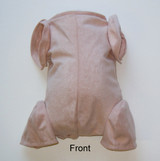 """Doe Suede Body for 20-21"""" Dolls Full Jointed Arms 3/4 Jointed Legs #1640"""