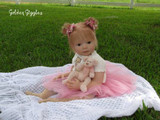 Leontyne Toddler Reborn Vinyl Doll Kit by Danielle Zweers NEW LOWER PRICE!