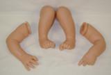 """Vinyl Limbs For 18-19"""" Reborn Doll Kits by Elisa Marx #20"""
