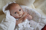 Nessa Reborn Vinyl Mini Doll Kit by Marita Winters