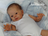 Anthony Reborn Vinyl Doll Kit by Laura Tuzio Ross