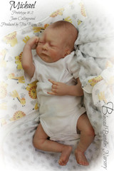 Michael Reborn Vinyl Doll Kit by Jane Collingwood