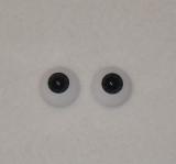 Acrylic Real Eyes in Newborn Ultra Dark-Black-Blue-Gray