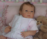 Saskia Reborn Vinyl Doll Head by Adrie Stoete - HEAD ONLY