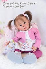 Ida Sitting Toddler Reborn Vinyl Doll Kit by Karola Wegerich