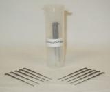 German Rooting Needles 40 Gauge With 0 Barbs (Forked)- Pack of 10