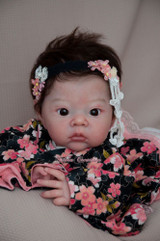 Akina Reborn Vinyl Doll Head by Adrie Stoete  Mix & Match - HEAD ONLY