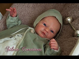 Meki Reborn Vinyl Doll Head by Adrie Stoete  Mix & Match - HEAD ONLY