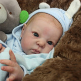 Dimitri Reborn Vinyl Doll Head by Adrie Stoete  Mix & Match - HEAD ONLY