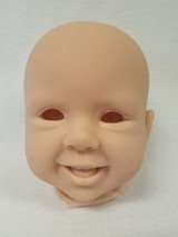Jette Reborn Vinyl Doll Head by Regina Swialkowski - HEAD ONLY