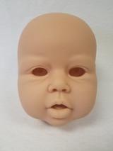 Violet Reborn Vinyl Doll Head by Jannie De Lange - HEAD ONLY
