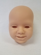 Sofia Reborn Vinyl Doll Head by Reva Schick - HEAD ONLY