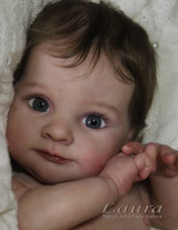 Laura Reborn Vinyl Doll Kit by Adrie Stoete Limited Edition