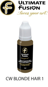 Ultimate Fusion Air Dry Paint Blonde Hair 1 12ml Bottle by Christina Woolley (.4 ounce)