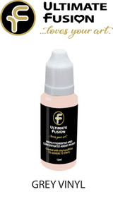 Ultimate Fusion All in One Air Dry Paint Grey Vinyl 12ml Bottle (.4 ounce)