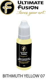 Ultimate Fusion All in One Air Dry Paint Bithmuth Yellow  12ml Bottle (.4 ounce)