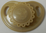 "HoneyBug Sweetheart Newborn Precious Vintage Pacifier for 18"" Dolls-Cafe Latte"