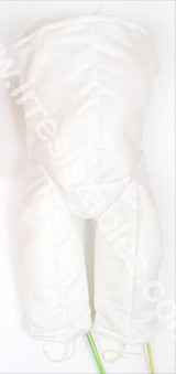 """German Doe Suede Lower Body with leg armatures for 40"""" Dolls Attaches at waist 831GW"""