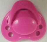 "HoneyBug Sweetheart Newborn Pacifier for 18"" Dolls-Bubblegum"