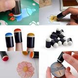 Mini Finger Tip Sponge Dauber (Stamper) for Reborn Doll Kits  Small Set of 6 Pieces