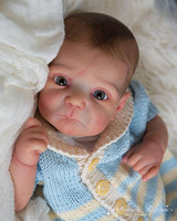 Ducklin LIMITED EDITION Reborn Vinyl Doll Kit by Adrie Stoete SOLD OUT