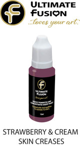 Ultimate Fusion All in One Air Dry Paint Strawberry & Cream skin Creases 12ml Bottle