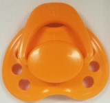 "HoneyBug Sweetheart Newborn Pacifier for 18"" Dolls-Orange Blossom"
