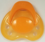 "HoneyBug Sweetheart Newborn Pacifier for 18"" Dolls-Miss Orange Blossom"