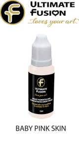 Ultimate Fusion All in One Air Dry Paint Baby Pink Skin 12ml Bottle (.4 ounce)