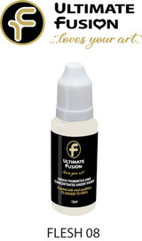 Ultimate Fusion All in One Air Dry Paint Flesh 08 12ml Bottle (.4 ounce)