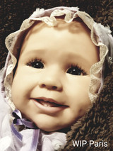 Paris Reborn Vinyl Toddler Doll Kit by Conny Burke