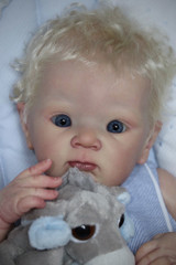 ZaZa  Reborn Vinyl Doll Kit by Adrie Stoete