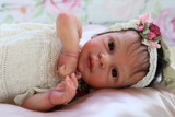 Leighton Rose Reborn Vinyl Doll Kit by Marita Winters