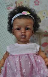 Kissy Mini Toddler Reborn Vinyl Doll Kit by Marita Winters  11 inches