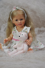 Madelaine Mini Toddler Reborn Vinyl Doll Kit by Marita Winters  11 inches