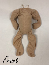 "German Cuddle Me Baby Whole Doe Suede Body for 18"" Reborn Dolls #1301GF"